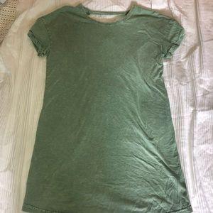 RVCA tee shirt dress